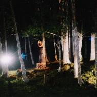Pesä, ympäristöteos Maria Hupposen tanssiteokseen, Täydenkuun Tanssit, Pyhäjärvi